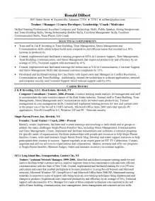 corporate resume templates 12 sle corporate trainer resume recentresumes