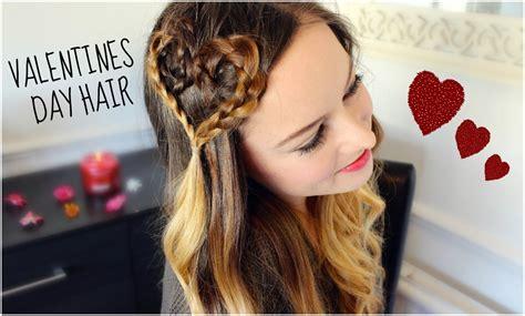 valentines day hair valentines day hair tutorial