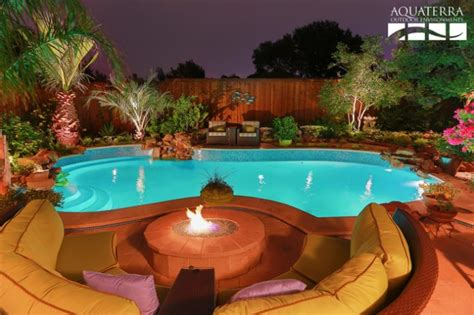 backyard pool ideas on a budget 20 sophisticated outdoor fire pit designs near the