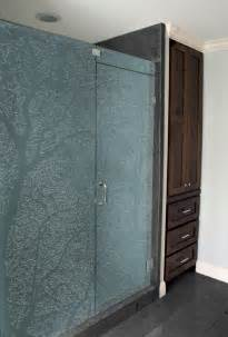 Frosted glass shower screens clearlight designs
