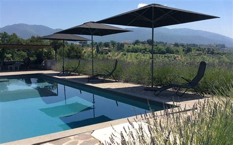Pool 3x4 Meter by Parasol Carr 233 Solero Patio Pour Terrasse 3x3