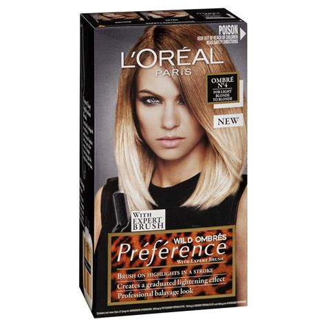 preference wild ombre on short hair buy l oreal preference wild ombre 4 light blonde to blonde