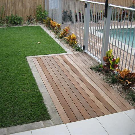 Landscape Timbers Around Pool Pergola Patio Deck Builder Coast Pro Line