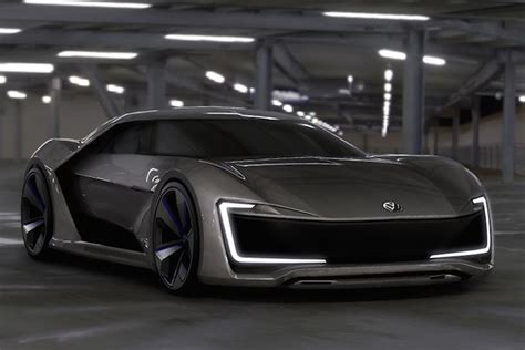 the future looks bright and this beautiful volkswagen