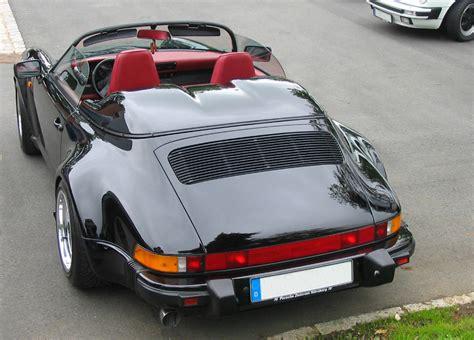 Singer Porsche Wiki by Datei Porsche 911 Speedster Black Jpg Wikipedia