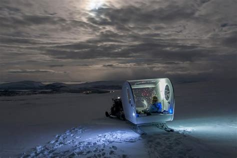 hotel under northern lights the mobile hotel room where you sleep under the northern
