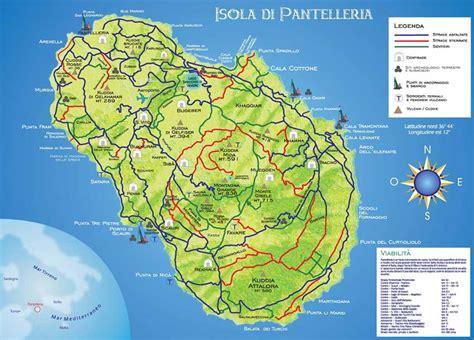di pantelleria mappa pantelleria