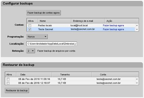 tutorial completo de zimbra restaurar conta de e mail no zimbra desktop 187 zimbra blog