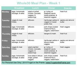 the busy person s whole30 meal plan week 1 allison