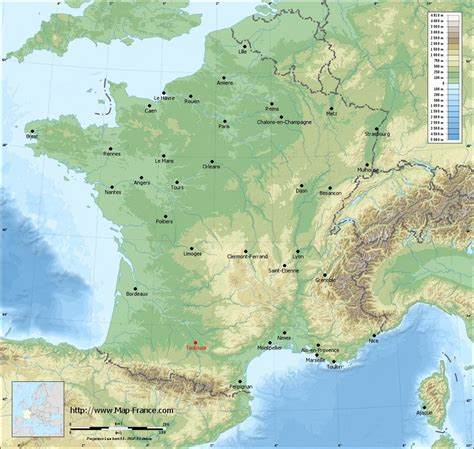 map of toulouse road map toulouse maps of toulouse 31500 or 31400 or