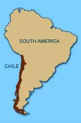 south america map chile sai movement in chile