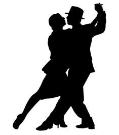 dancers silhouette silhouette images clipart best