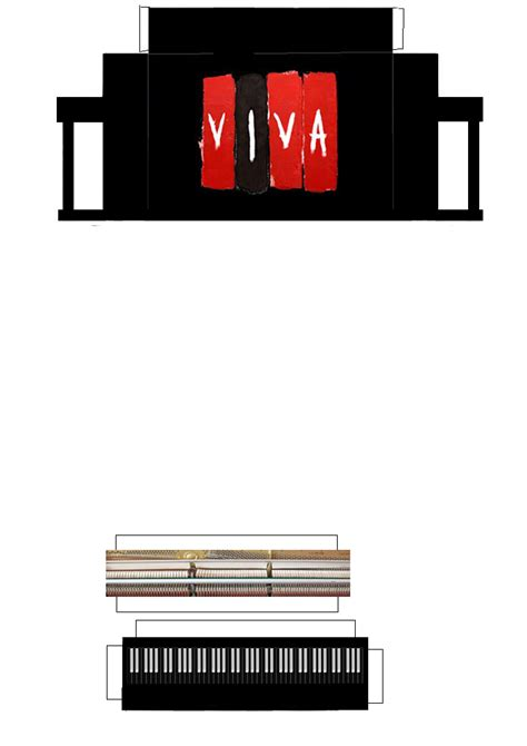 Piano Papercraft - coldplay viva piano papercraft by facundoneglia on