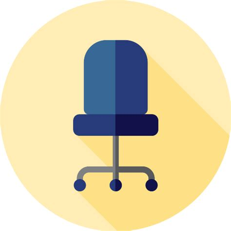 Office chair free buildings icons