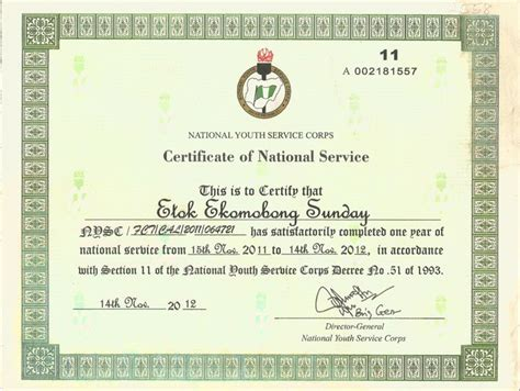Nysc Request Letter Sle Nysc Certificate Confirmation How To Go About It