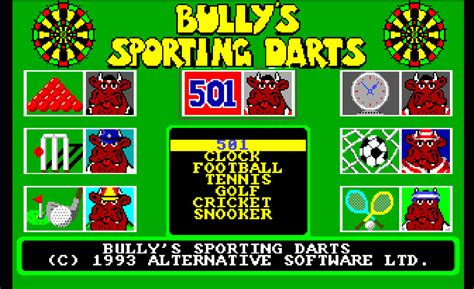 emuparadise bully bully s sporting darts rom