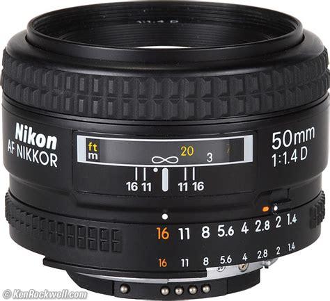Nikon Af 50mm F 1 4d nikon 50mm f 1 4 af d review