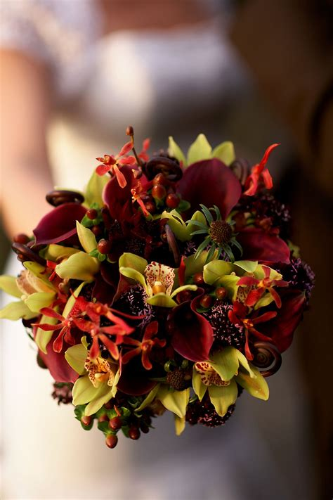 Fall Wedding Flower Pictures by Something Borrowed Fall Fabulousness