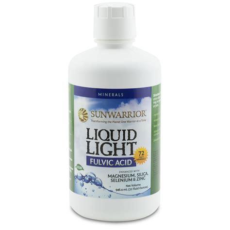 Humic Fulvic Acid Master Detox by Sunwarrior Liquid Light Fulvic Acid 32 Fl Oz 946 4 Ml