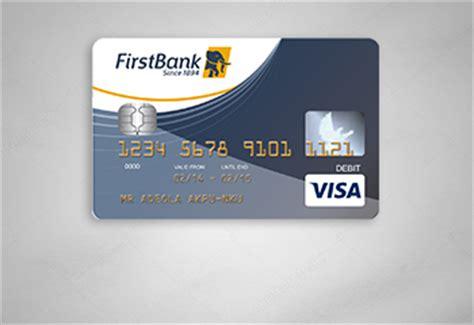debit cards firstbank nigeria