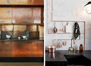 Copper Kitchen Cabinets by The New Metal Copper For Interior Design Home