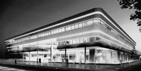 Horizontale Fassade by Neubau Verwaltungsgeb 228 Ude Auf Angenehme
