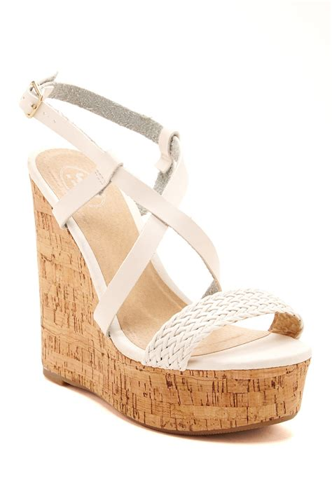 carrini cork wedge sandal nordstrom rack