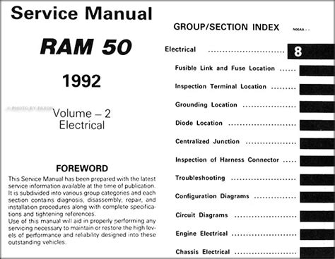 how to download repair manuals 1992 dodge ram van b250 engine control 1992 dodge ram 50 truck repair shop manual original 2 volume set