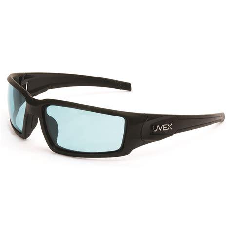 uvex s1933x blue light uvex s2951xp hypershock safety glasses matte black frame
