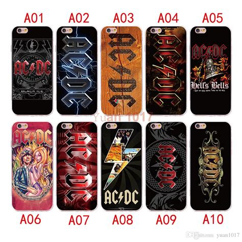 Acdc For Iphone 6s new style ac dc for iphone x 8 7 6 6s plus silicone