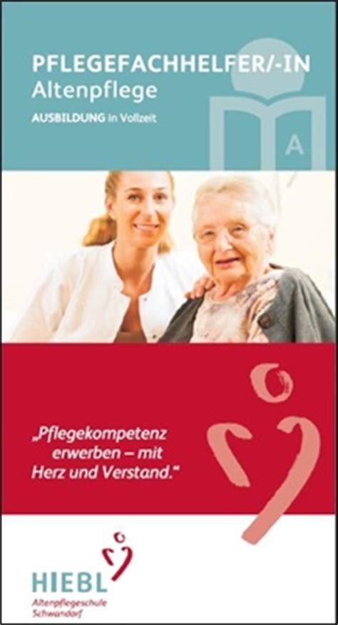Ausbildung Pflegefachhelfer In Altenpflege 2018