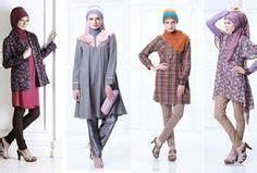 Gamis Dewasa Abaya Azure Stripe L muslim fashions pleated skirt muslim fashion