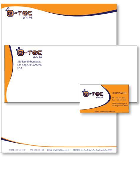 Business Card Letterhead Design Graphic Design Letterhead And Business Card Exles 3