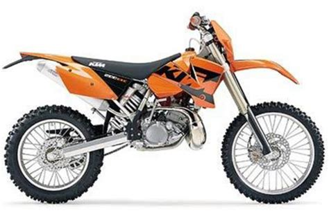 2008 Ktm 200 Xc 2008 Ktm 200 Xc And Xc W Motorcycle Review Top Speed