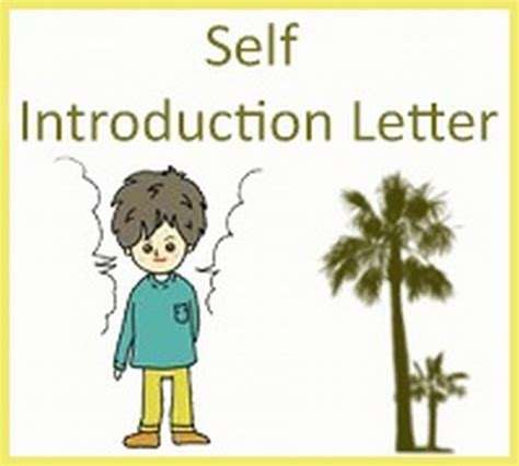 Scholarship Self Introduction Letter how to write self introduction letter for visa application