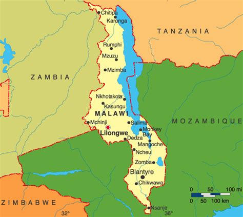 malawi map 301 moved permanently