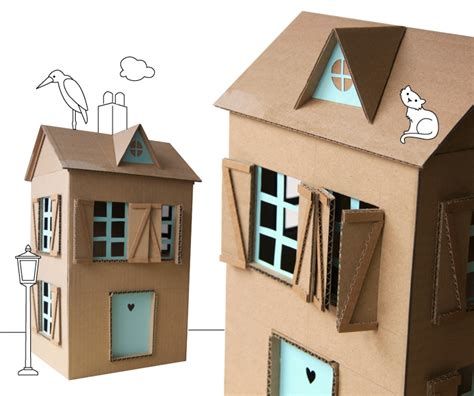 How To Make A Small Paper House - 5 ways to make a dollhouse petit small