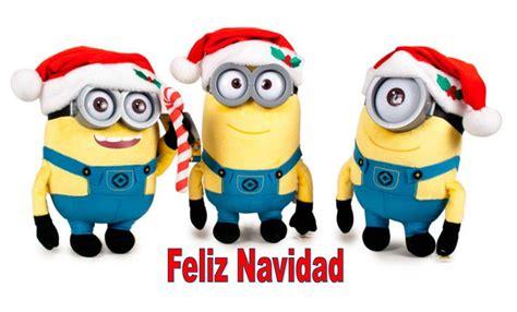 bonita imagen de feliz navidad de minion fondos de pantalla navide 241 os de minions banco de
