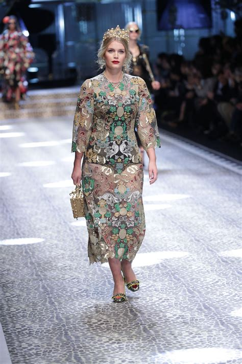 Milan Fashion Week by Spencer Dolce Gabbana Show Runway On Milan Fashion