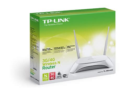 Router Wifi 3g 4g Tp Link Mr3420 tl mr3420 3g 4g wireless n router tp link
