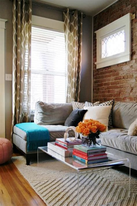 awid ashleigh weatherill interior design casual living space love the exposed brick and