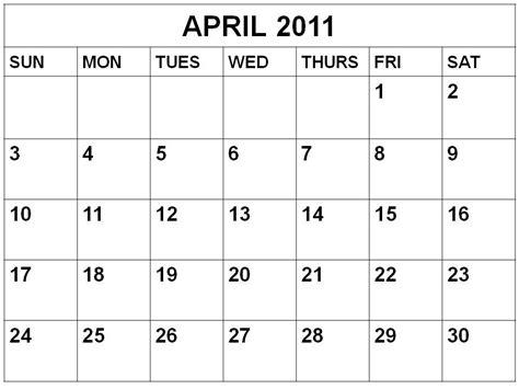 Kalender April 2011 Entertainment News 2011 Calendar Printable Free