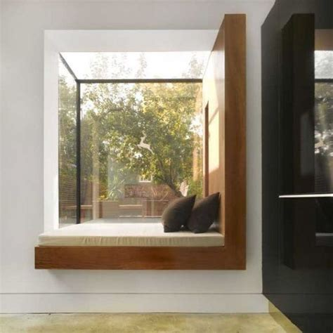 modern bay window seat interior inspiration pinterest