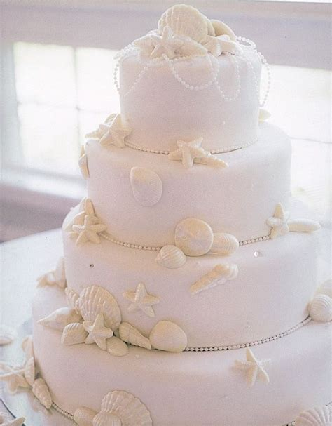 25 best ideas about seashell wedding cakes on nautical wedding cakes wedding