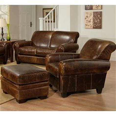 leather chair with ottoman costco similar style to the pottery barn manhattan leather chair
