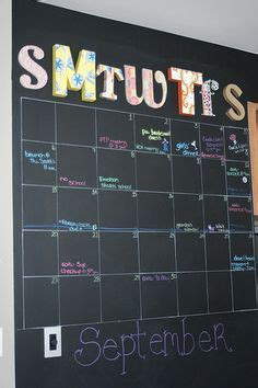chalkboard paint not erasing 1000 ideas about erase calendar on