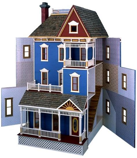 doll house plan free download country doll house free r14 3060 san francisco dollhouse vintage woodworking