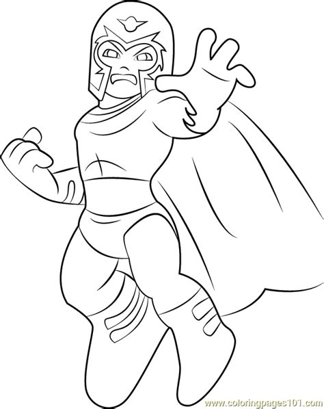 squad coloring pages magneto coloring page free the squad show