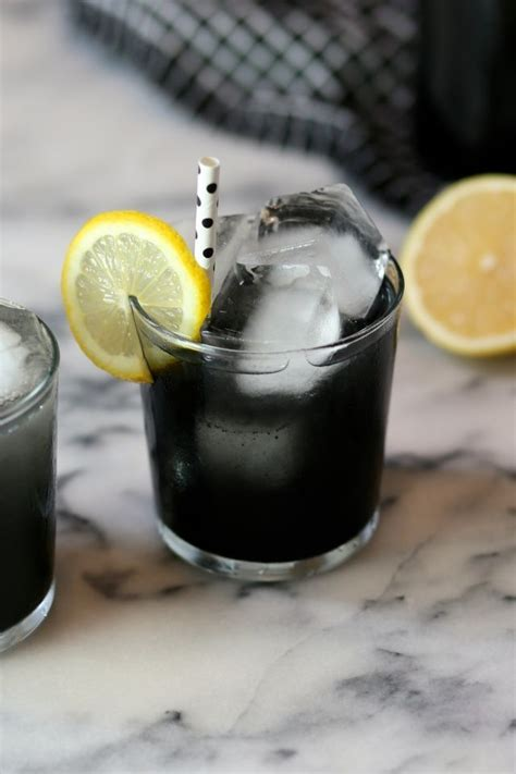 Planet K Detox Drinks by Activated Charcoal Lemonade The Baker Lemonade
