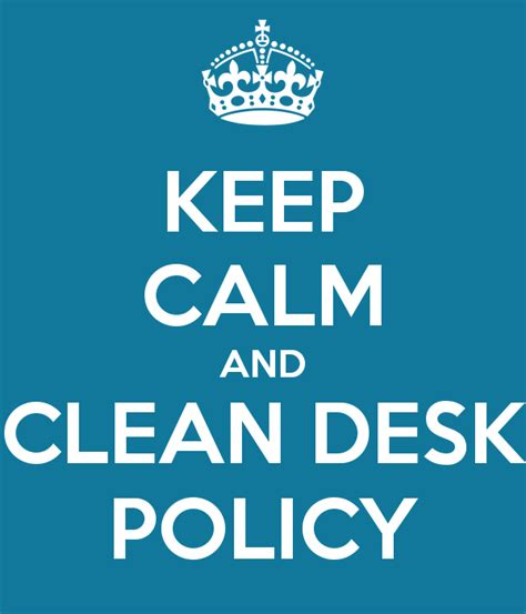 Sle Clean Desk Policy by Clean Desk Policy Pictures To Pin On Pinsdaddy